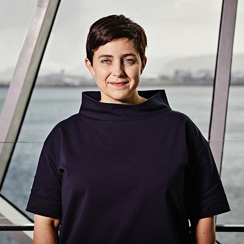 Portrait of Margrét Bjarnadóttir