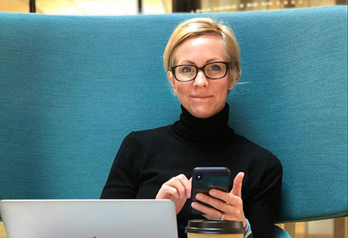 Portrait of Elin Allison, Head of New Product & Strategy - Data Insights, Division X of Telia
