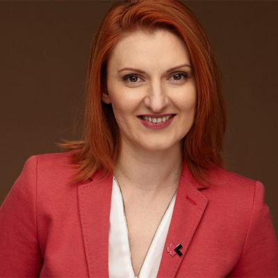 Portrait of Mia Negru, Co-founder of 2030 Builders